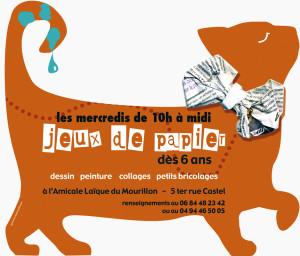 2004/2008 Atelier de peinture et travaux manuels pour enfants, affiches pour l'association